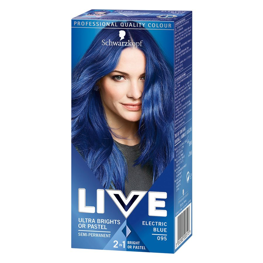 Schwarzkopf Live Ultra Bright #95 Electric Blue