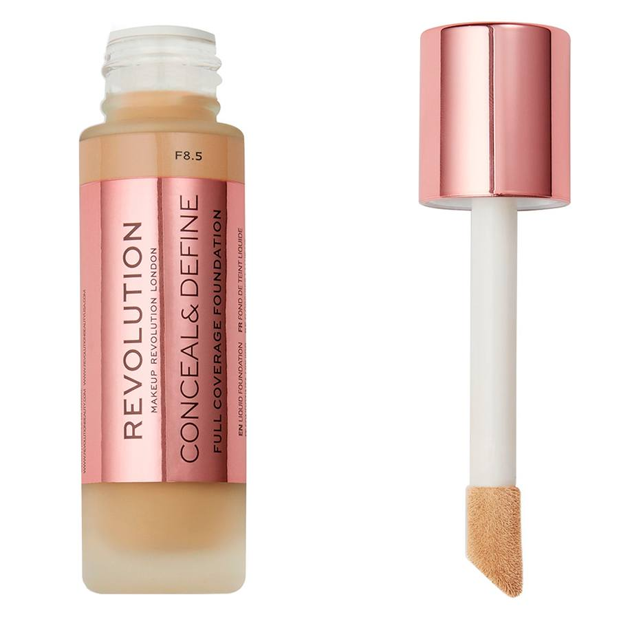Makeup Revolution Conceal & Define Foundation F8.5 23ml