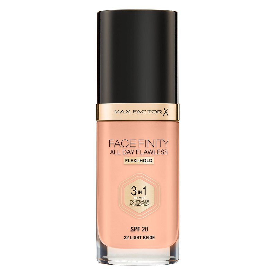 Max Factor Facefinity All Day Flawless 3-in-1 Foundation #32 Light Beige 30 ml
