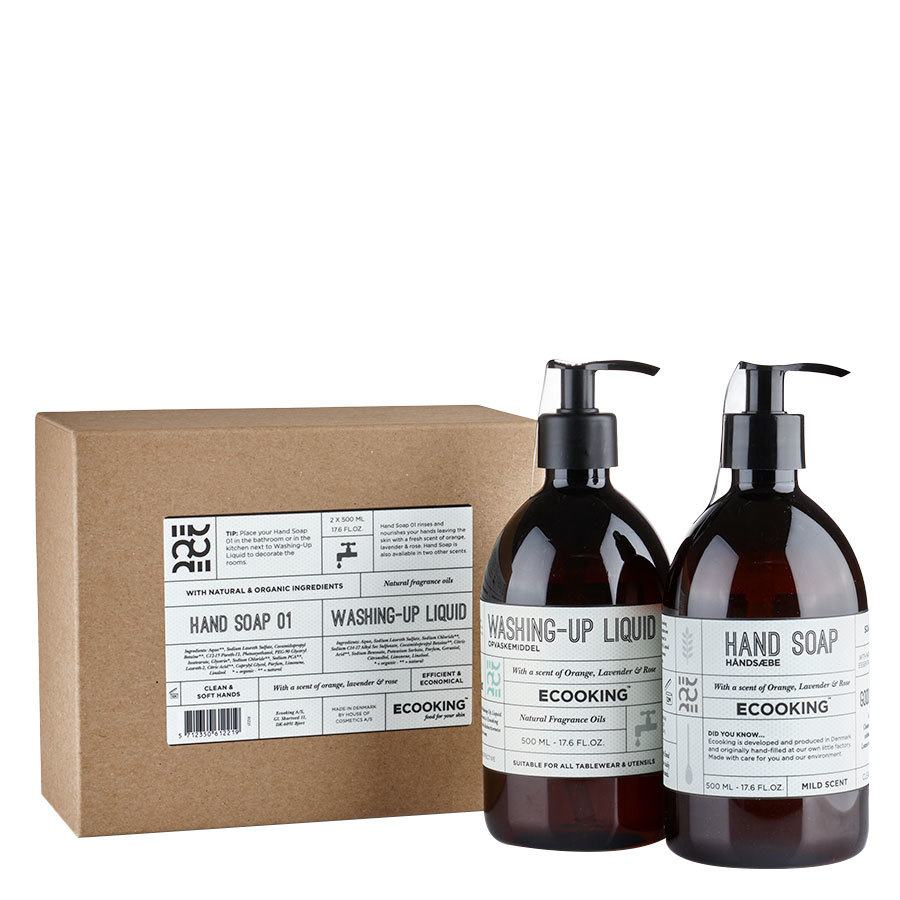 Ecooking Hand Soap 01 & Washing-Up Liquid 2 x 500 ml