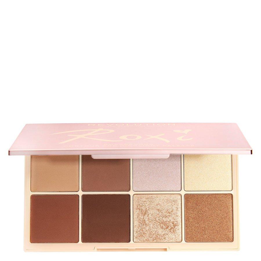 Makeup Revolution X Roxi Palette Highlight & Contour Shadow 8 x 2,5 g