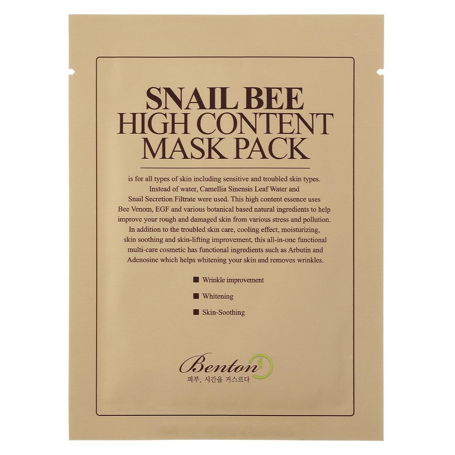 Benton Snail Bee High Content Mask 1 st