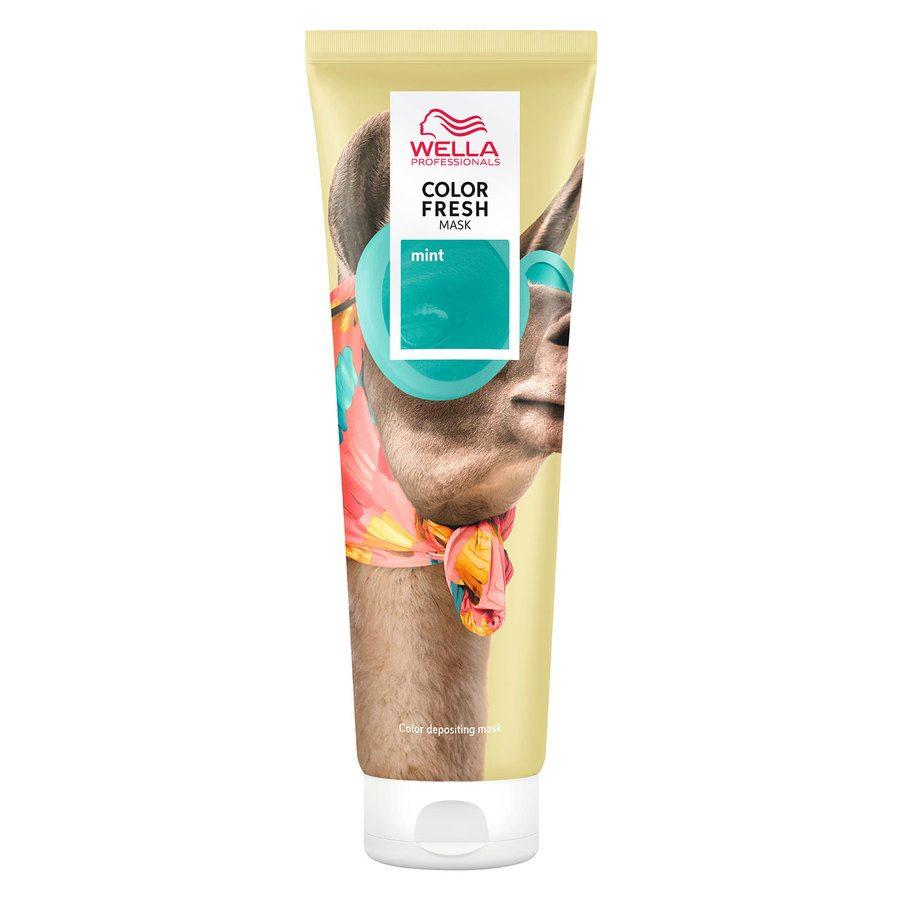 Wella Professionals Color Fresh Mask Mint 150 ml