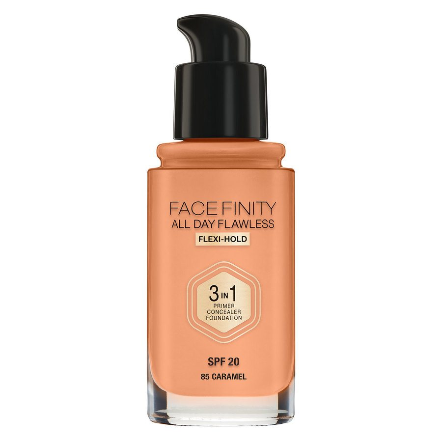 Max Factor Facefinity 3 In 1 Foundation 85 Caramel 30 ml