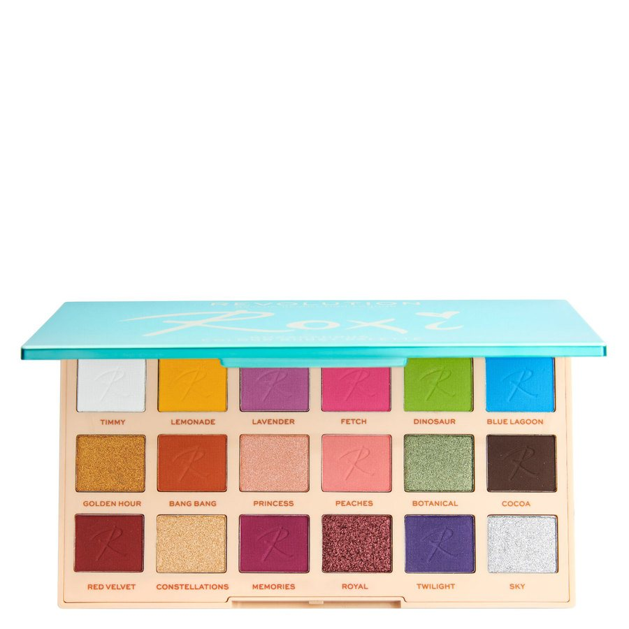 Makeup Revolution X Roxi Palette Color Burst Shadow 18 x 0,8 g
