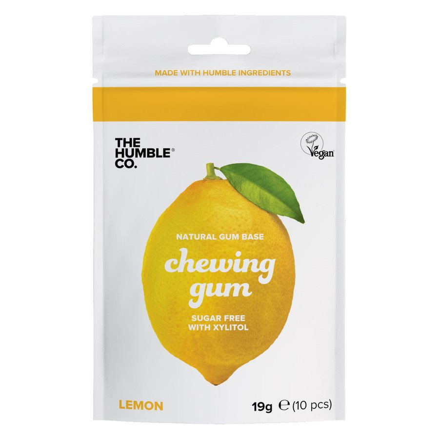 The Humble Co Humble Natural Chewing Gum Lemon 10 st.