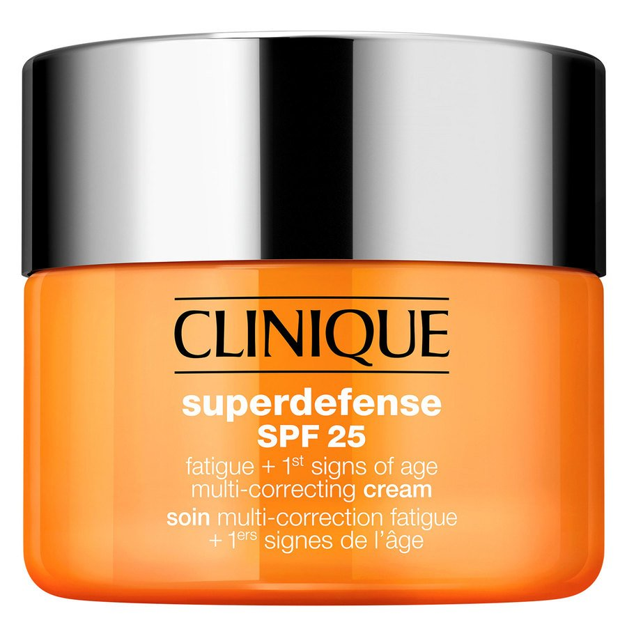 Clinique Superdefense SPF25 Fatigue + 1st Signs Of Age Multi-Correcting Cream Skin Type 1+2 30ml