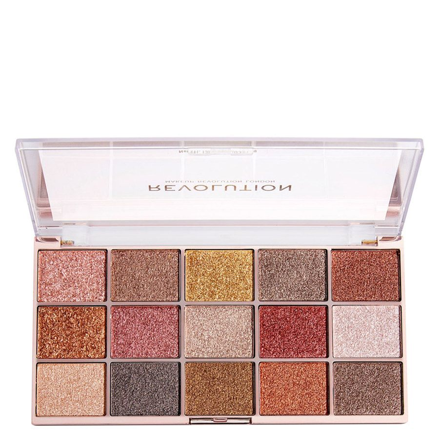 Makeup Revolution Foil Frenzy Eyeshadow Palette Fusion 15x2g