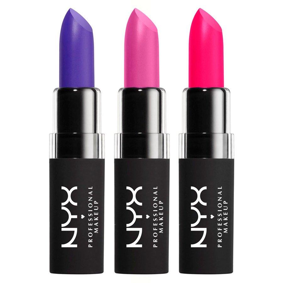 NYX Professional Makeup Velvet Matte Set 03