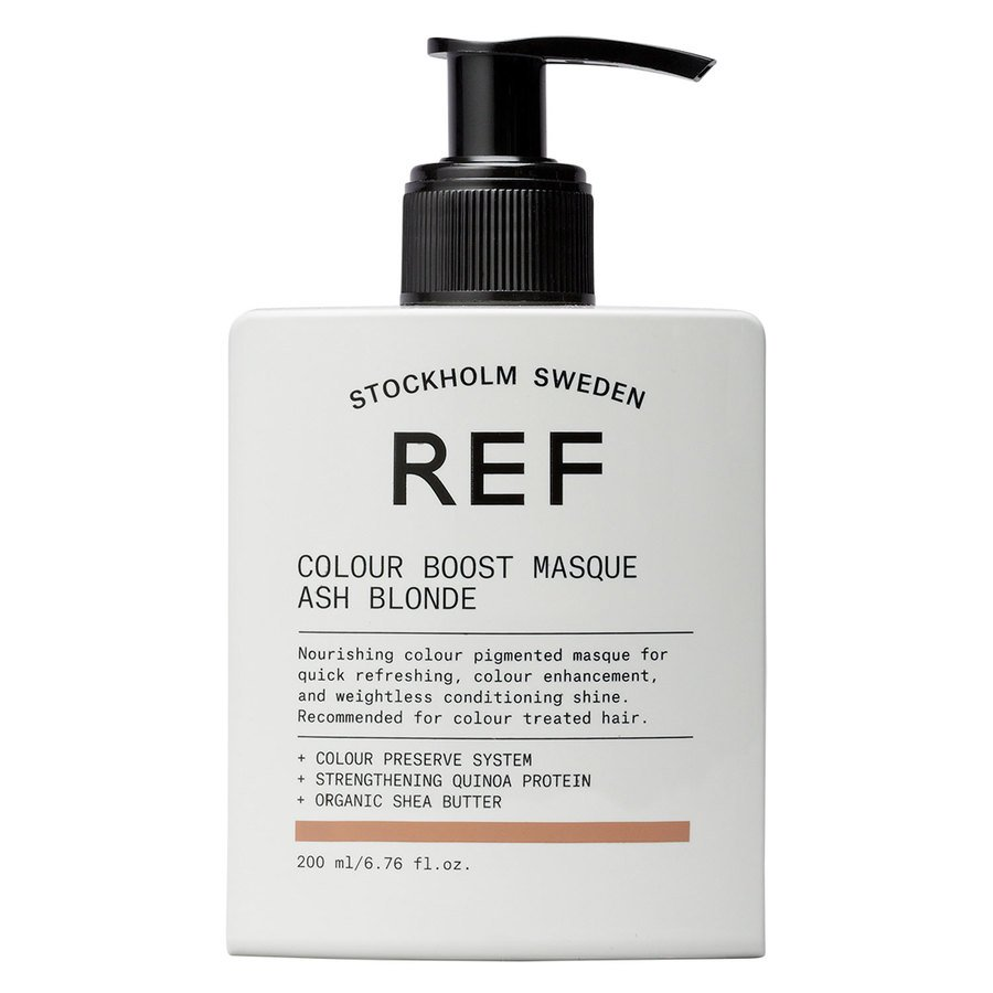 REF Color Boost Masque Ash Blonde 200 ml