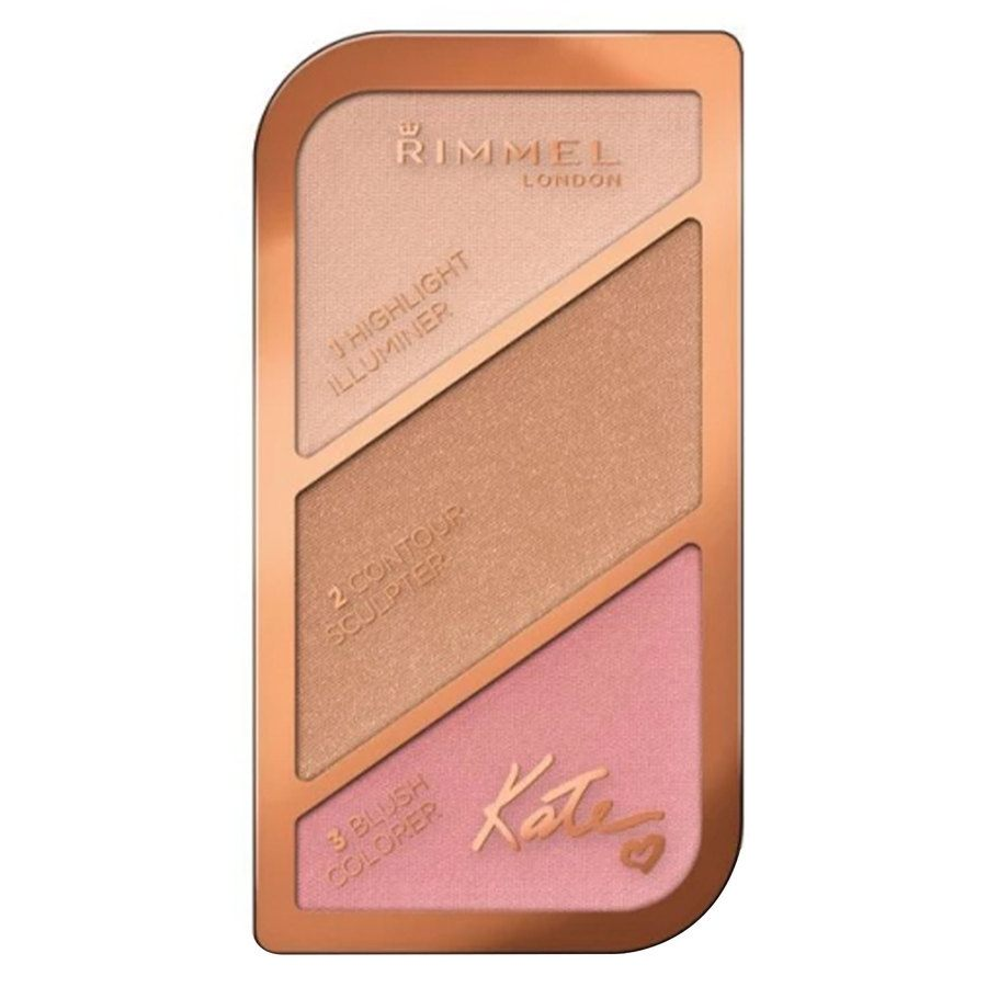 Rimmel London Kate Sculpting & Highlighting Palette #001 Golden Sands 18,5g