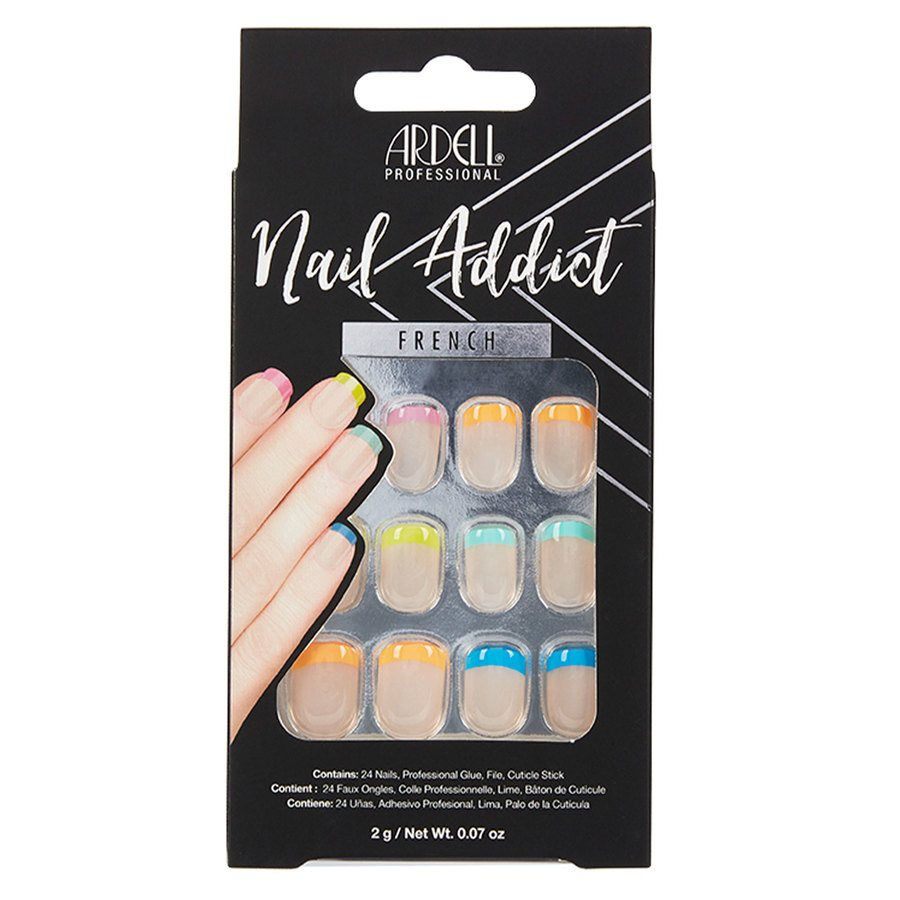 Ardell Nail Addict Rainbow French 1 st.