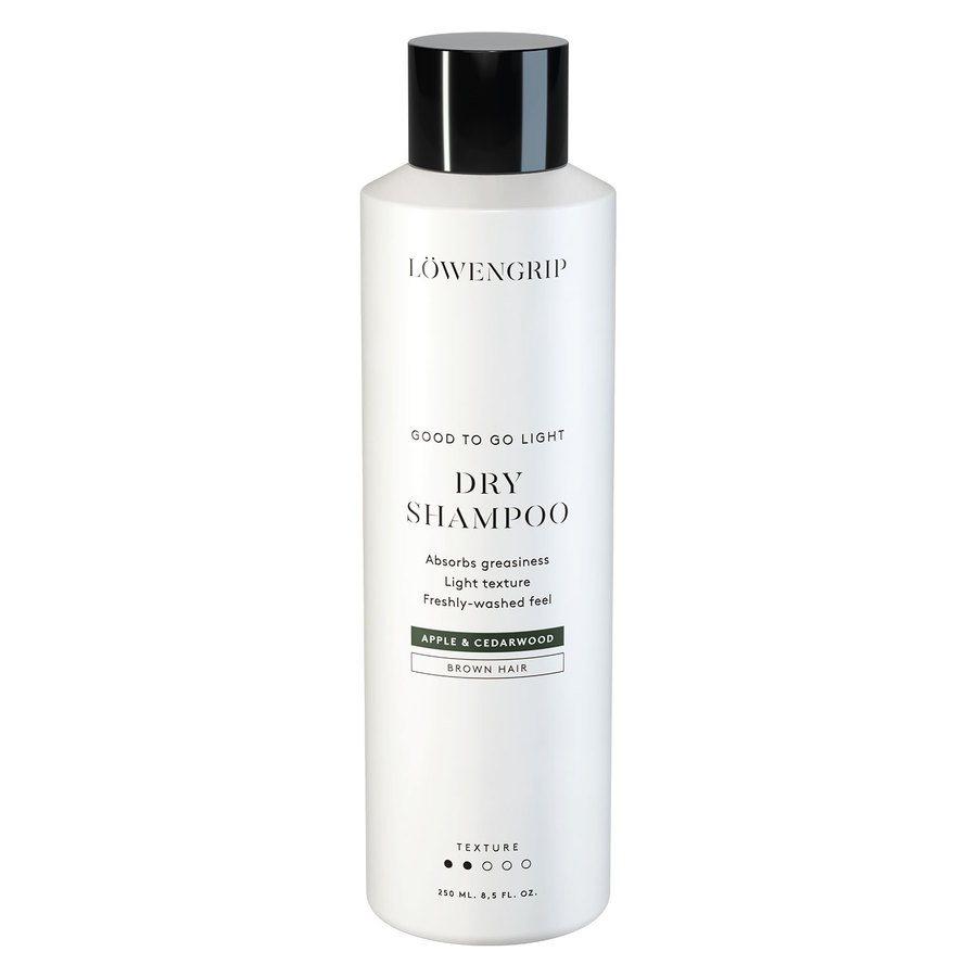 Löwengrip Good To Go Dry Shampoo For Brown Hair Apple & Cedarwood 250ml