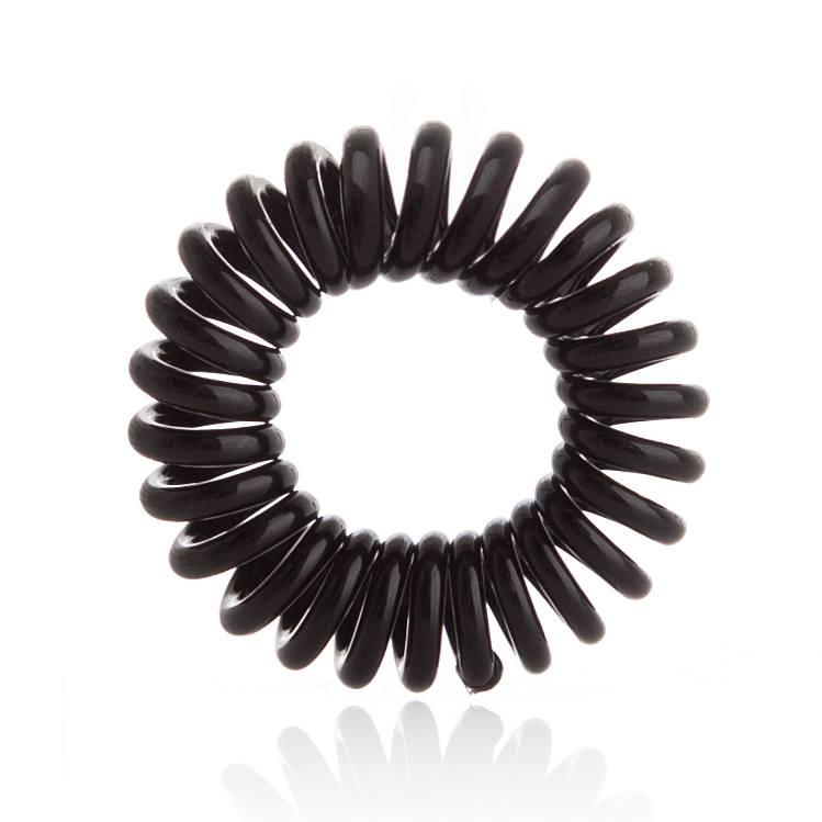 Invisibobble 3 Traceless Hair Rings True Black