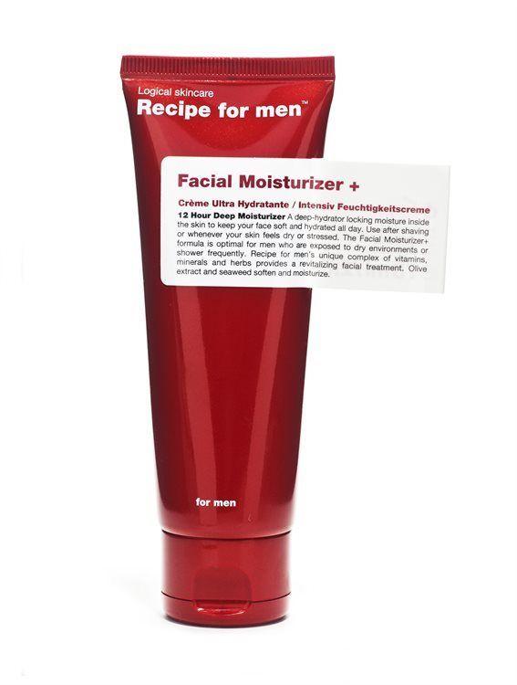 Recipe For Men Facial Moisturizer + 75 ml