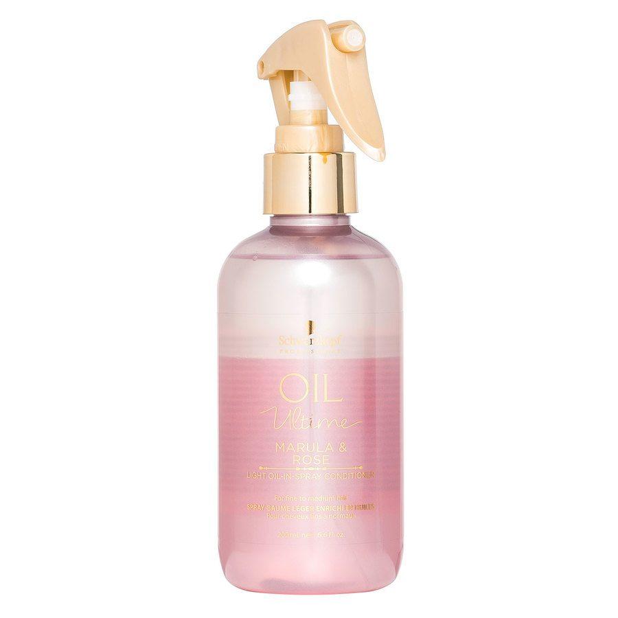 Schwarzkopf Oil Ultime Marula & Rose Light Oil-In-Spray Conditioner 200 ml