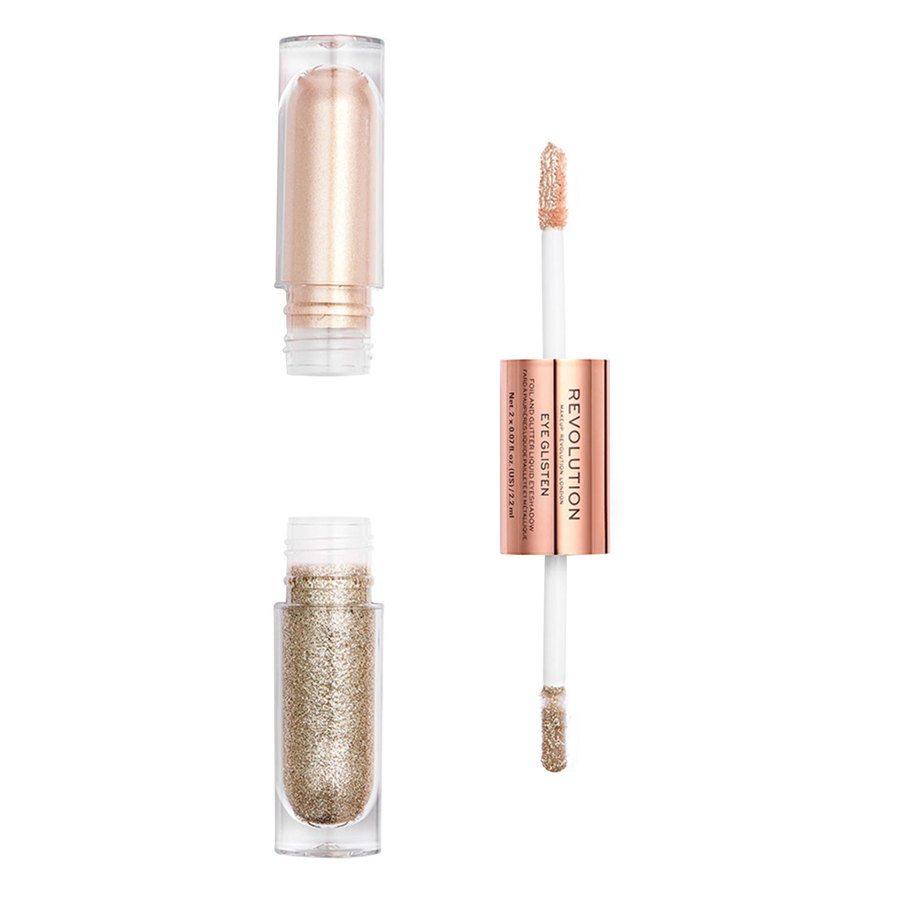 Makeup Revolution Eye Glisten Foil And Glitter Liquid Eyeshadow It's Fate 2x2,2 ml