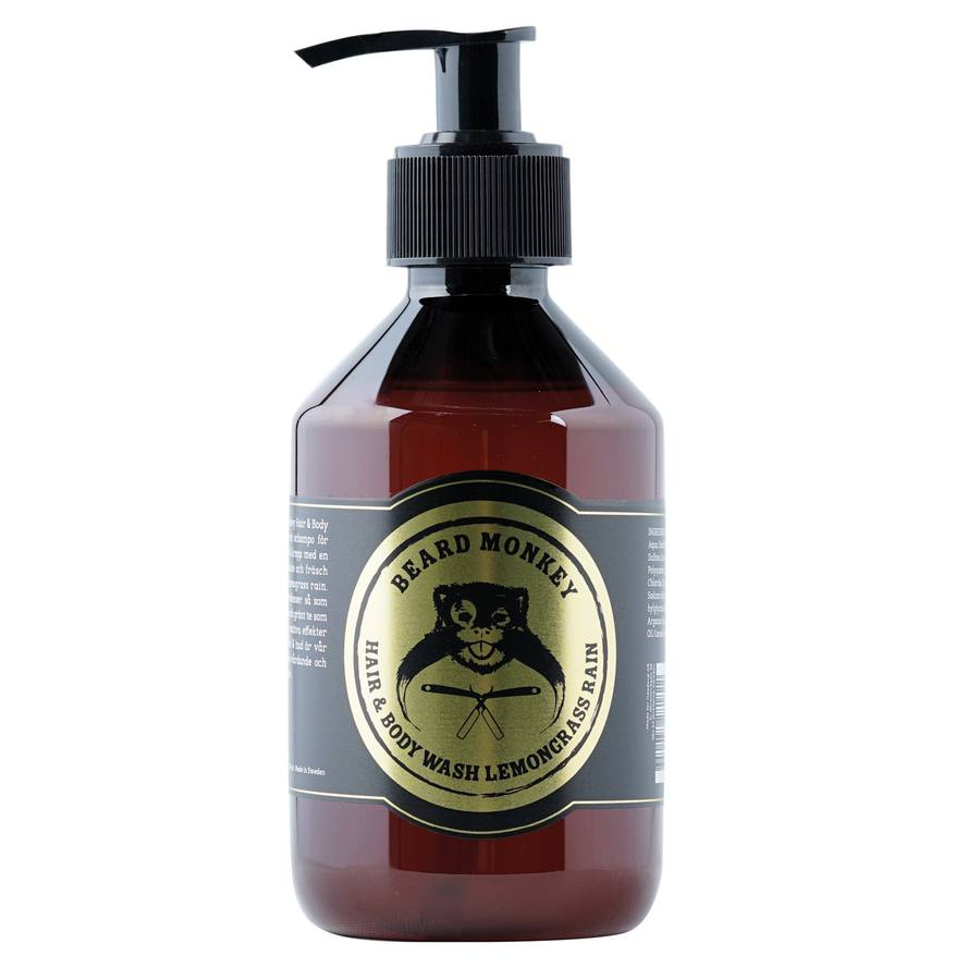 Beard Monkey Hair & Body Wash Lemongrass 250 ml