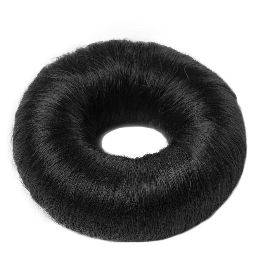 Hair Accessories Synthetic Hair Bun Large Black 1 st