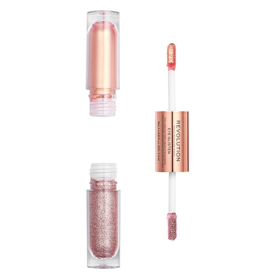 Makeup Revolution Eye Glisten Foil And Glitter Liquid Eyeshadow Yours Truly 2x2,2 ml