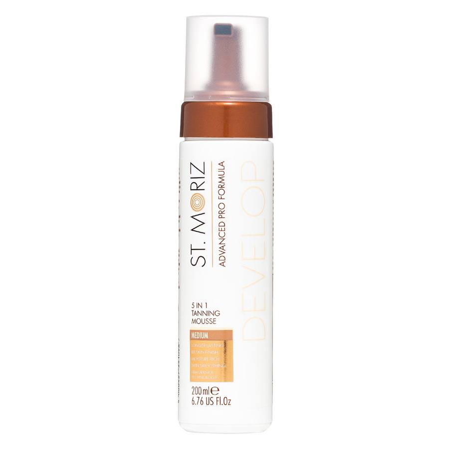 St. Moriz Advanced Pro Formula Medium 5in1 Tanning Mousse 200ml