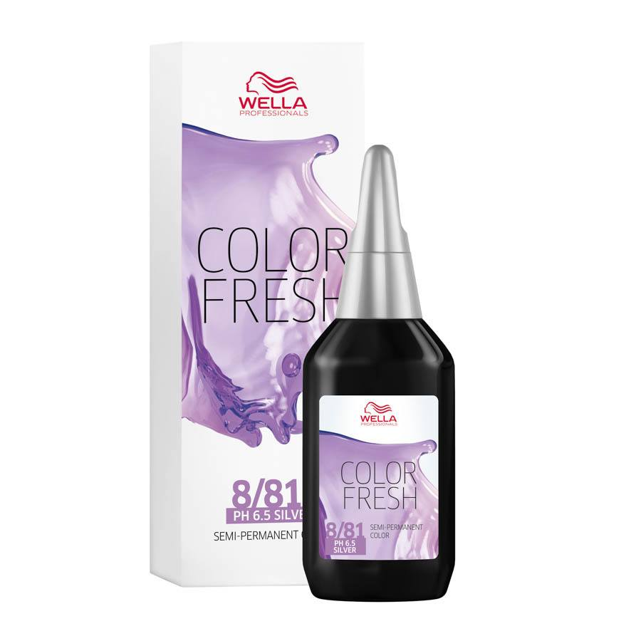 Wella Color Fresh 8/81 Light Blonde Pearl Ash Silver 75 ml