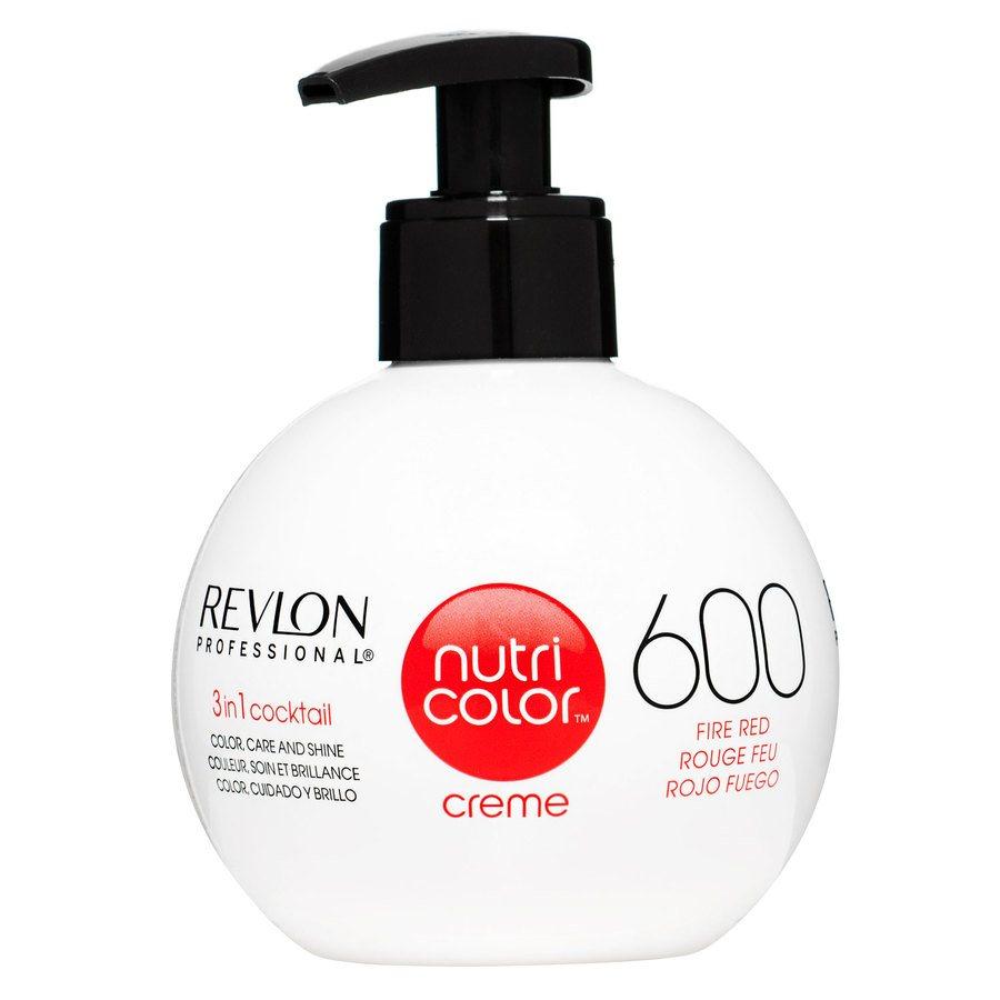 Revlon Professional Nutri Color Creme 270 ml #600 Fire Red
