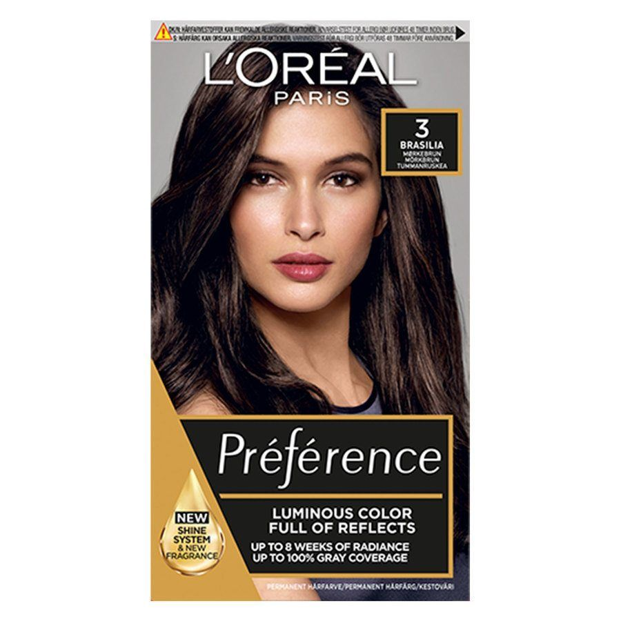L'Oréal Paris Récital Préférence 3 Mörkbrun Brasilia