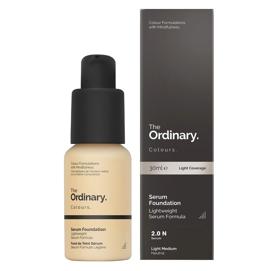 The Ordinary Serum Foundation 2.0 n. Light Medium Neutral 30 ml