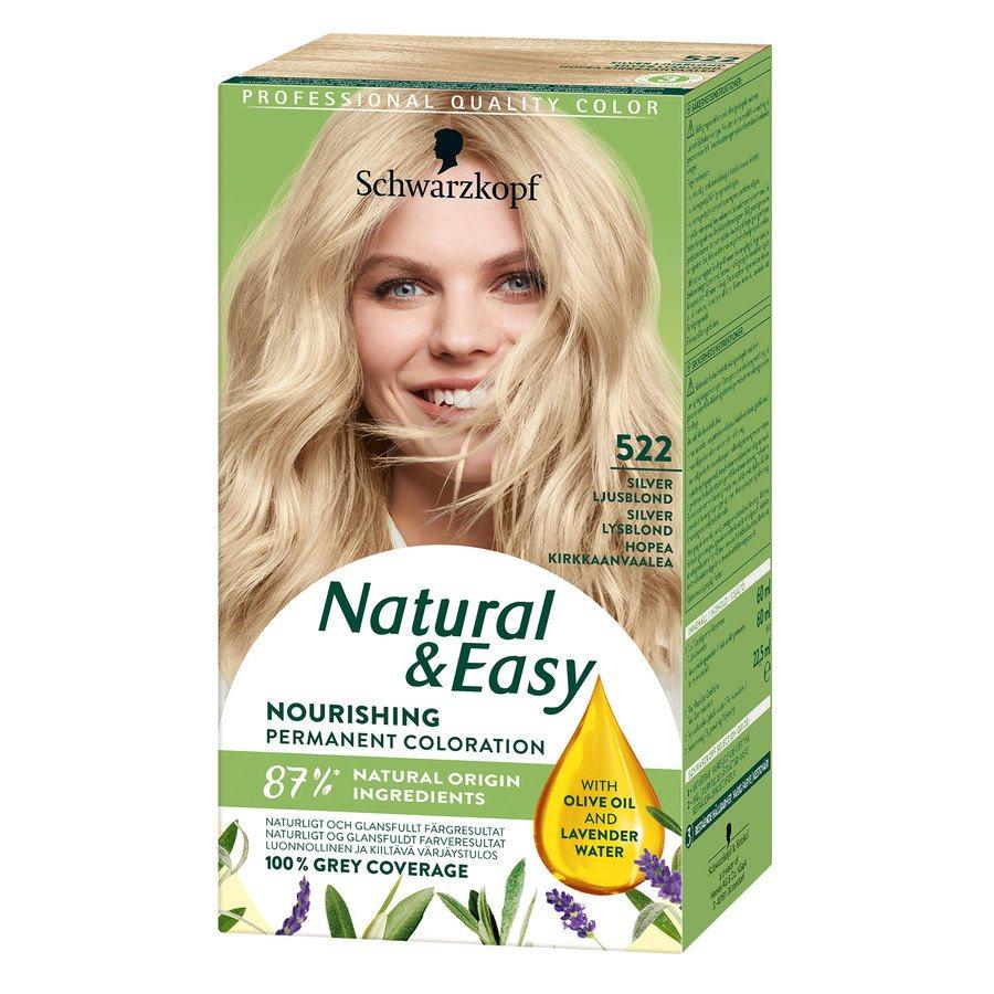 Schwarzkopf Natural & Easy 522 Silver Light Blonde