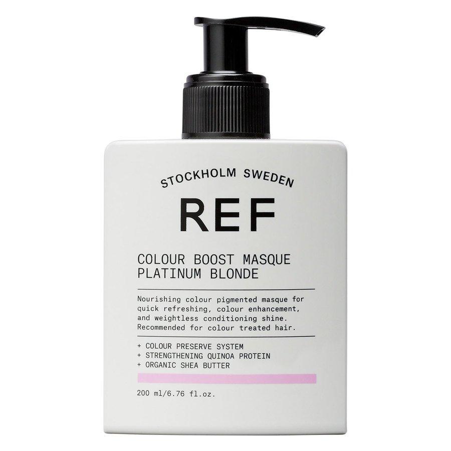 REF Colour Boost Masque Platinum Blonde 200ml
