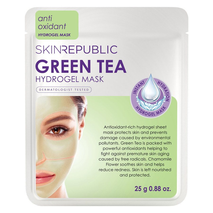 Skin Republic Green Tea Hydrogel Face Mask Sheet 25 g