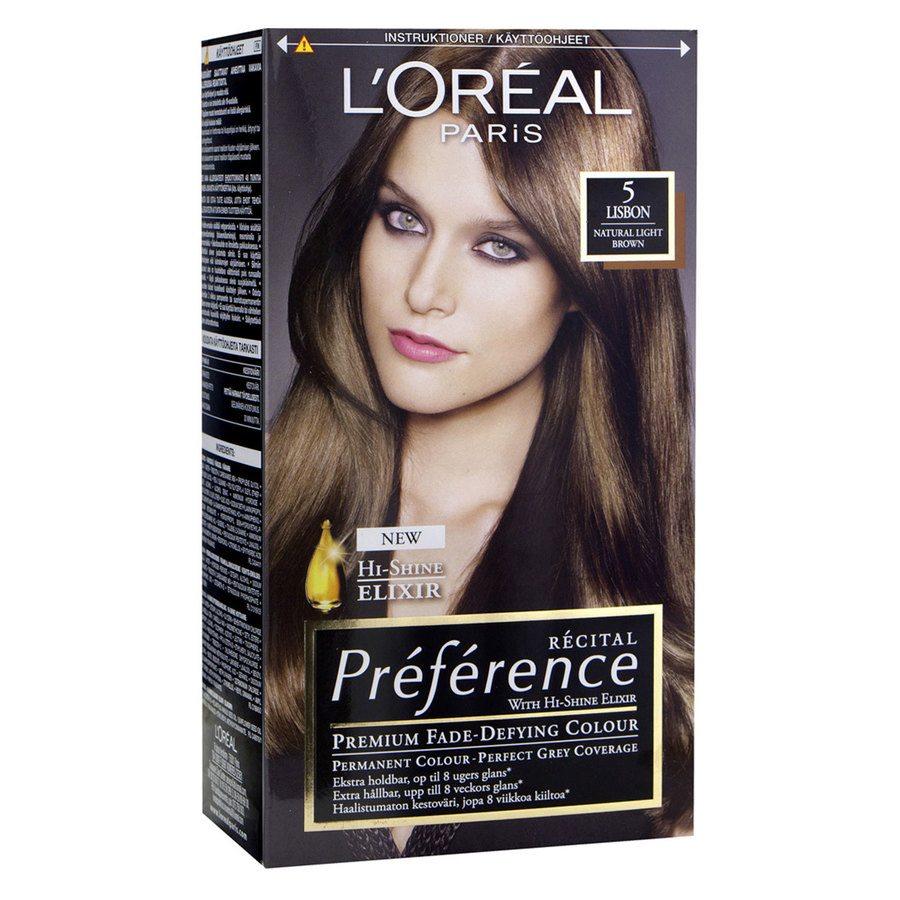 L'Oréal Paris Récital Préférence 5 Ljusbrun Brügge