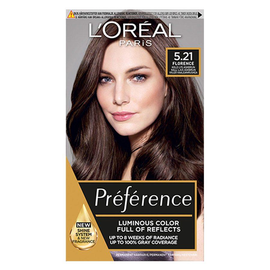 L'Oréal Paris Récital Préférence 5,21 Kall ljus askbrun