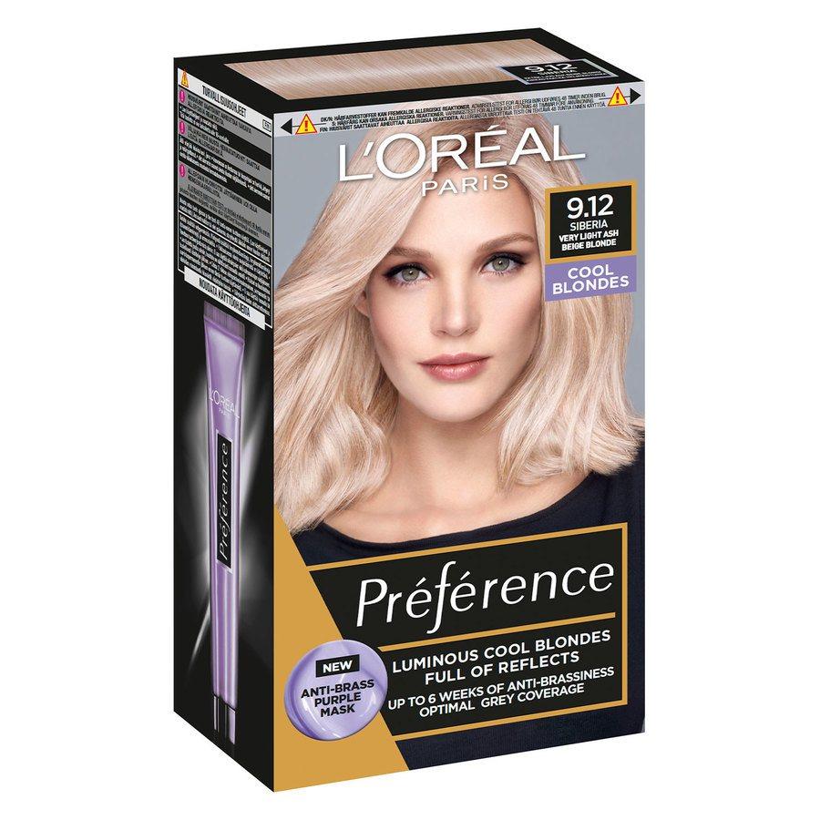 L'Oréal Paris Préférence Core Récital 9.12