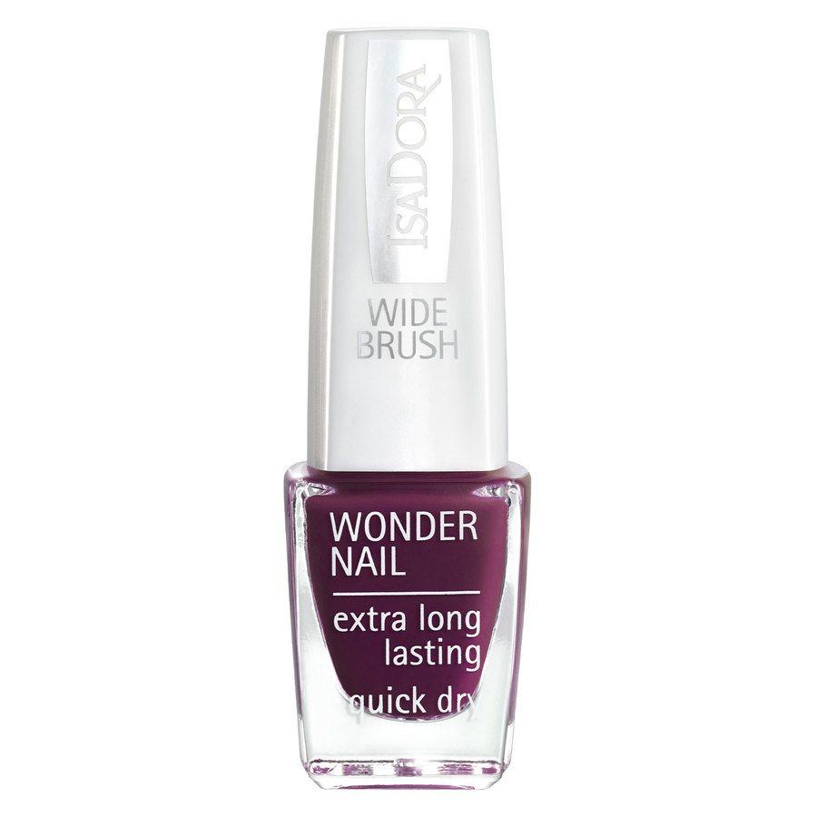 IsaDora Wonder Nail Wide Brush #569 Dark Legend 6ml
