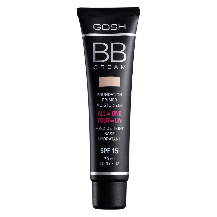 GOSH BB Cream Foundation #002 Beige 30 ml