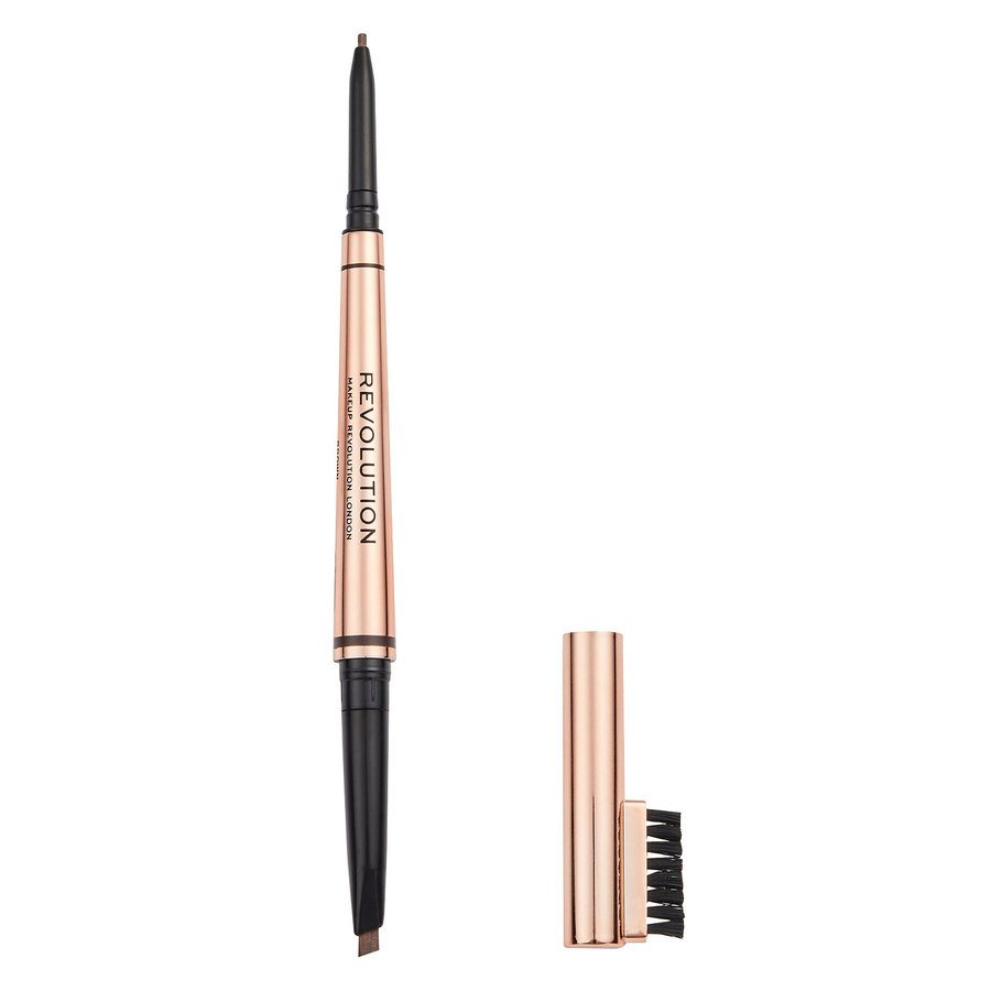 Revolution Beauty Makeup Revolution Balayage Duo Brow Pencil Brown 0,38 g