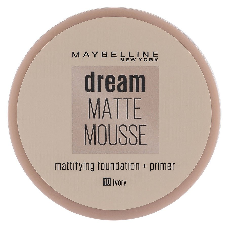 Maybelline Dream Matte Mousse 10 Ivory 18 ml