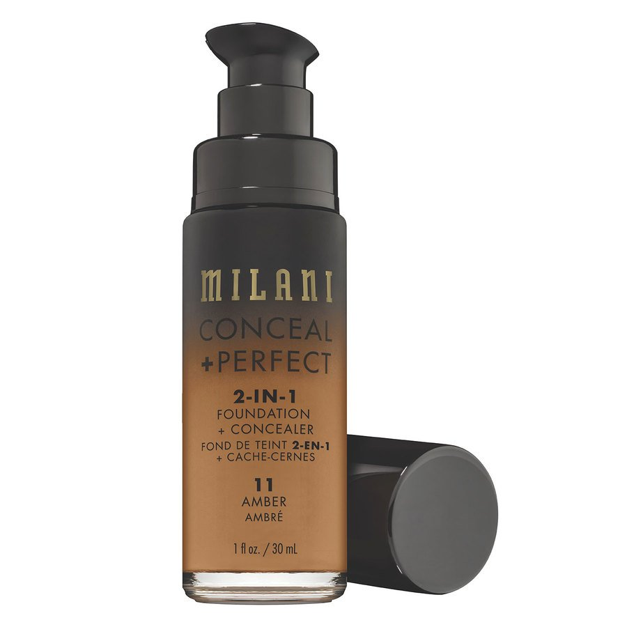 Milani Conceal & Perfect 2 In 1 Foundation + Concealer Amber 30 ml
