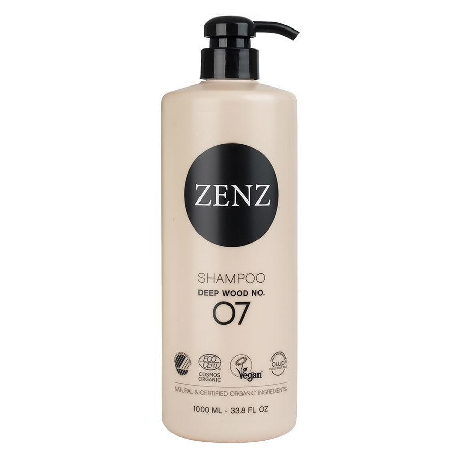 Zenz Organic No. 07 Deep Wood Shampoo 1000 ml
