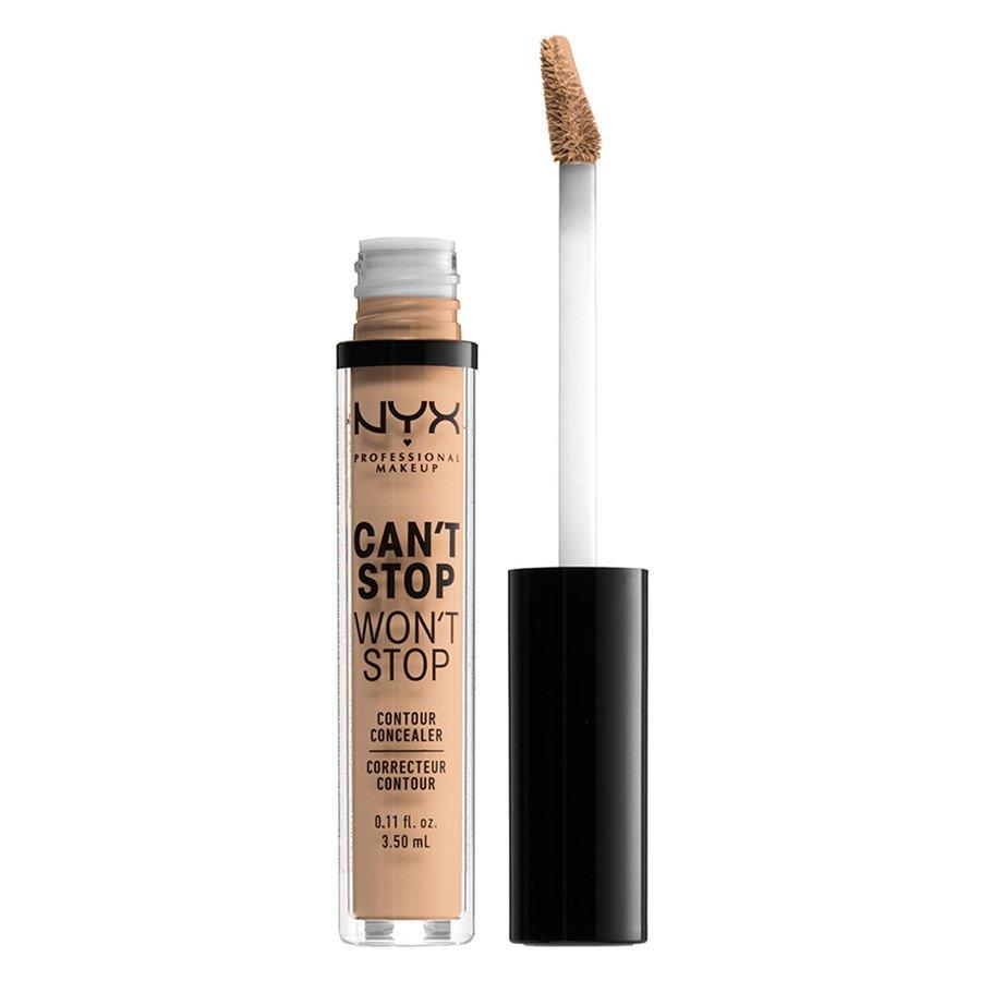 NYX Professional Makeup Can't Stop Won't Stop Contour Concealer Natural 3,5 ml