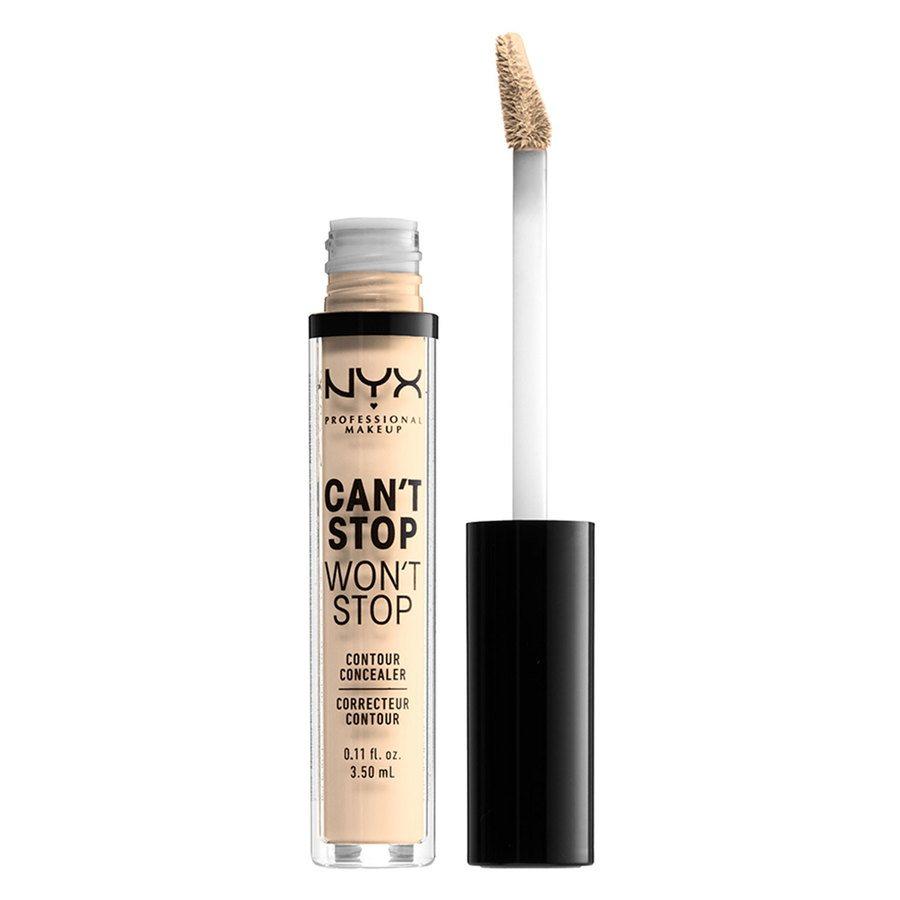 NYX Professional Makeup Can't Stop Won't Stop Contour Concealer Pale 3,5 ml