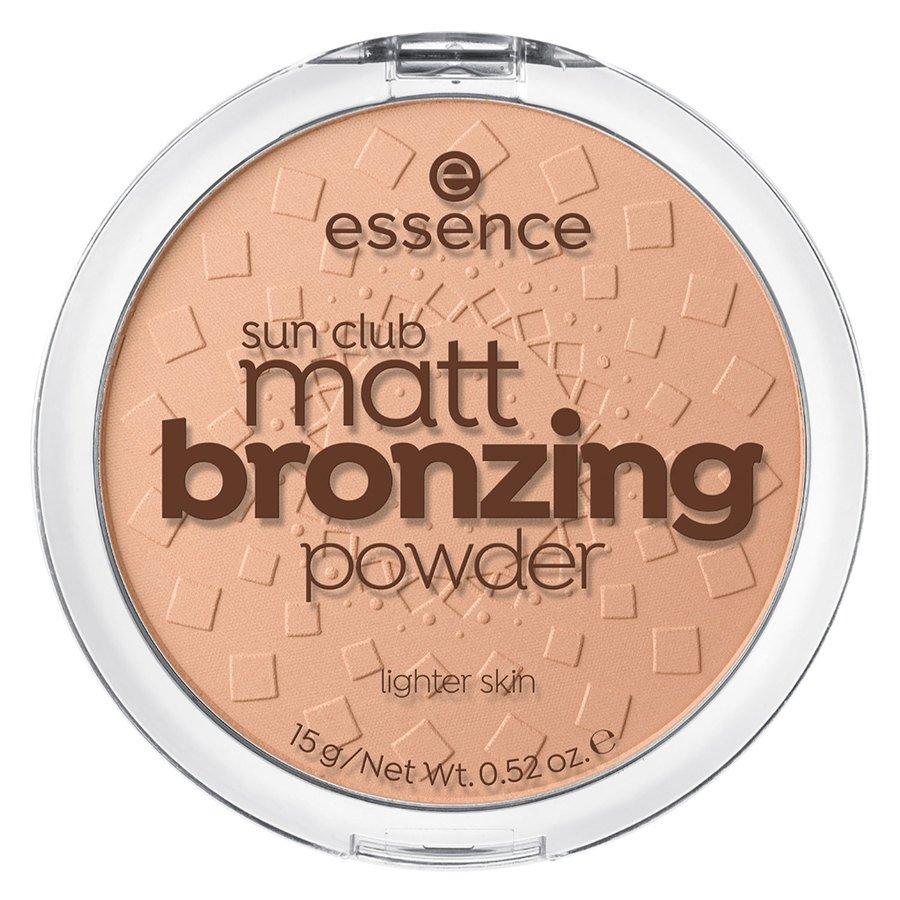Essence Sun Club Matt Bronzing Powder 01 15 g