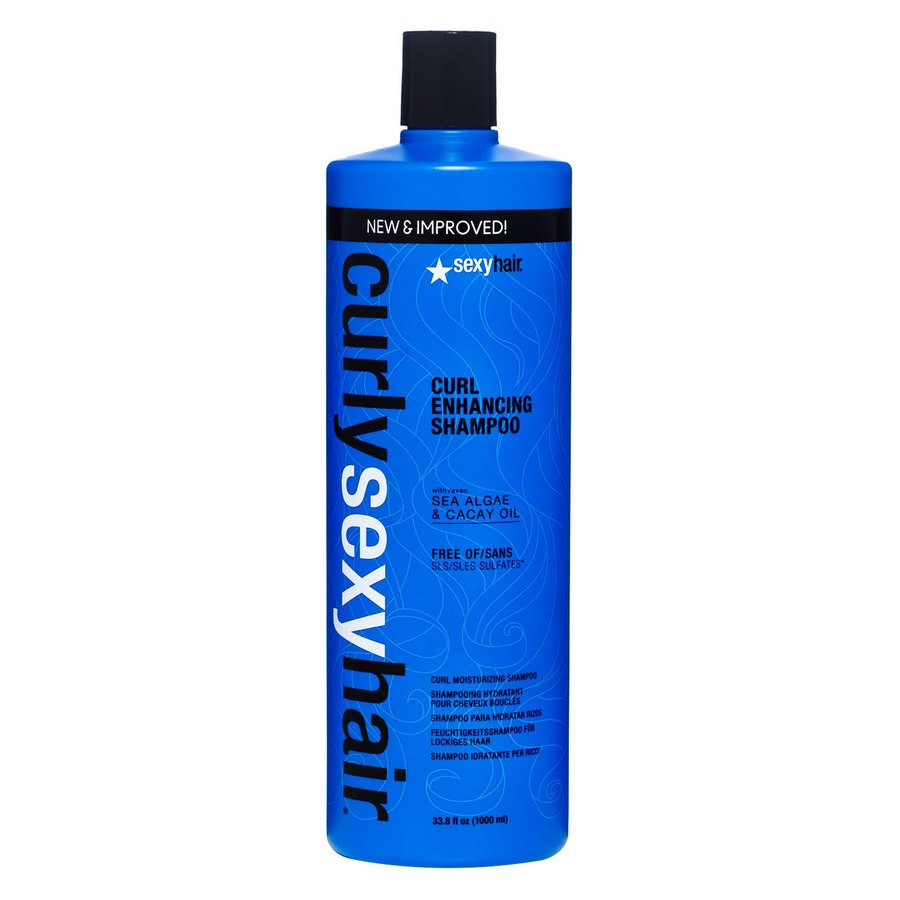 Curly Sexy Hair Color Safe Curl Defining Shampoo 1000 ml