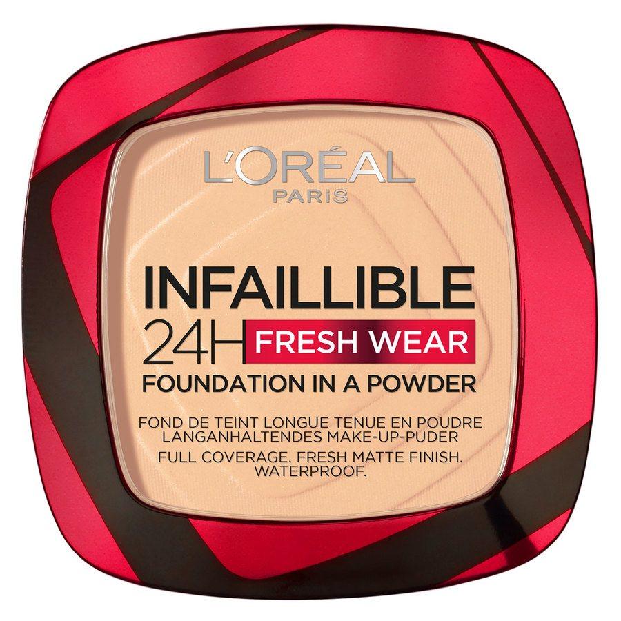 L'Oréal Paris Infaillible 24H Fresh Wear Foundation in a Powder Cashmere 9 g