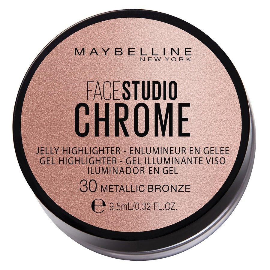 Maybelline Chrome Jelly Highlight #30 Metallic Bronze 9,5 ml