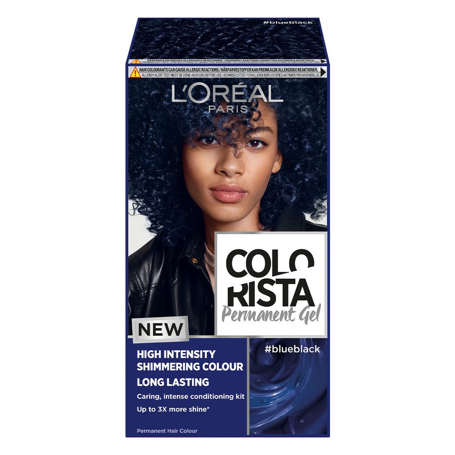 L'Oréal Paris Colorista Permanent Gel Blue Black