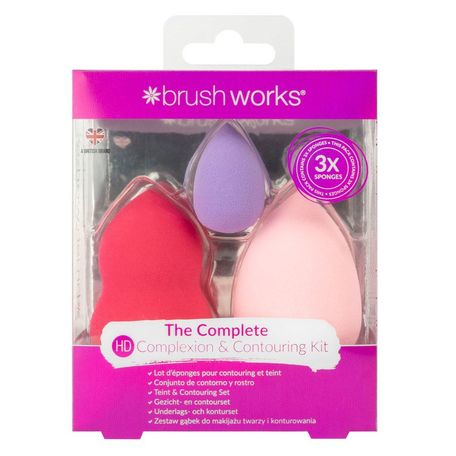 Brushworks Complexion & Contouring Kit