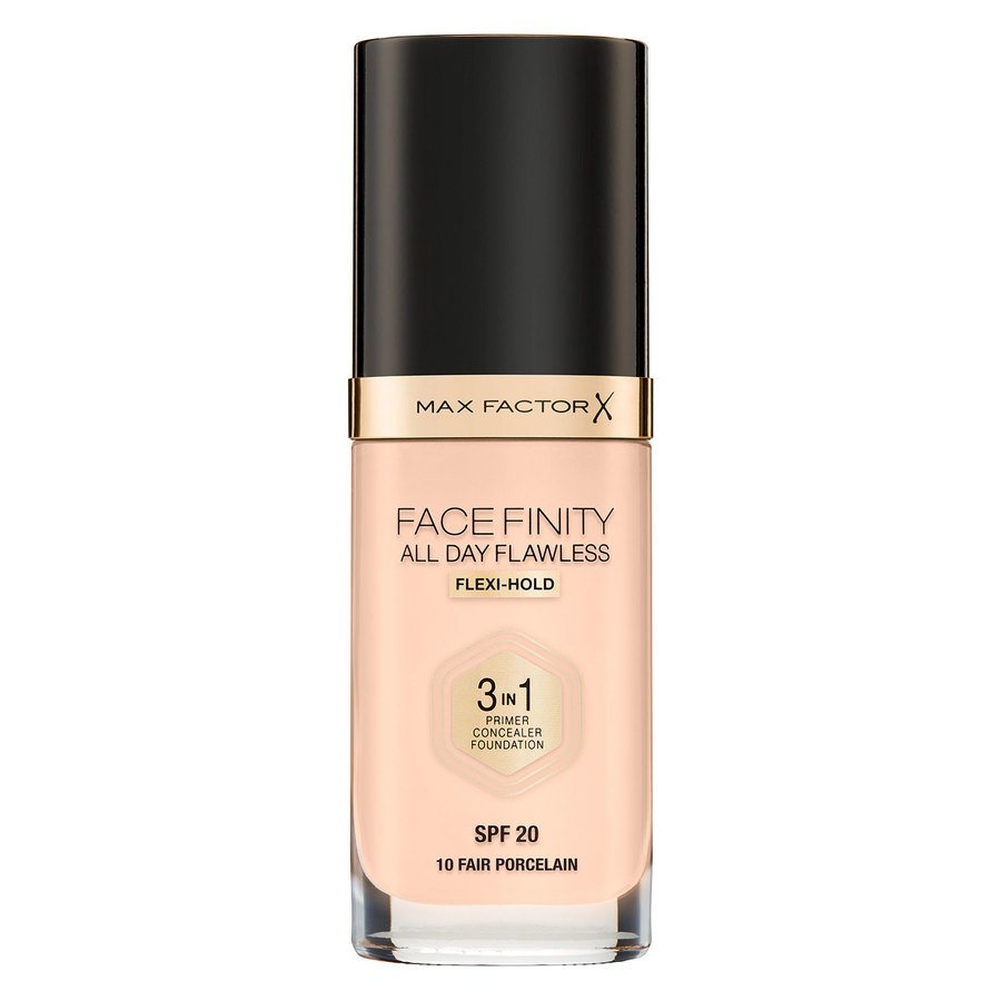 Max Factor Facefinity All Day Flawless 3-in-1 Foundation #10 Fair 30 ml